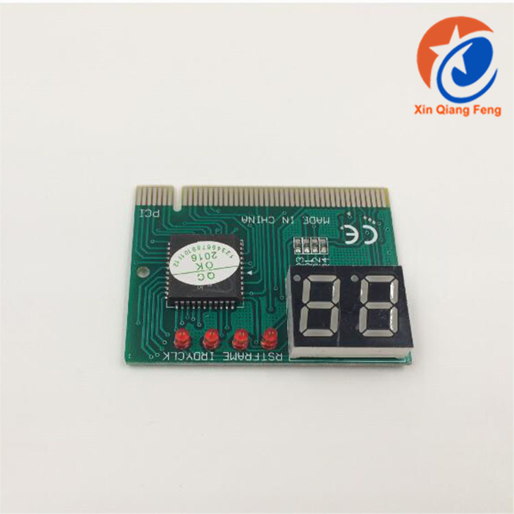 Green PCI pc analyzer motherboard diagnostic card laptop motherboard diagnostic tools for computer