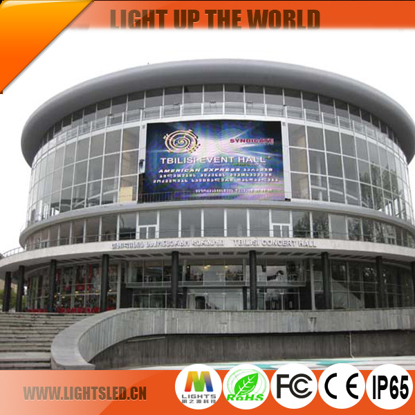 1R1G1B P8 P6 P5 outdoor moving LED display video large LED moving display screen direct from factory
