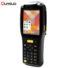 android pda barcode laser scanner,NFC payment terminal,,Lottery mobile terminal wireless printer (PDA3505)