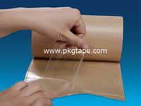 Transfer Tape /non backing tape /no backing tape solvent adhesive