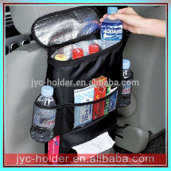 T0C033 Top quality car organizers,backseat organizer for kids, hanging car backseat organizer with cooler bag for sale