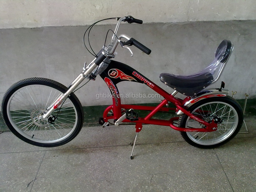 "24""-20"" 6 speeds adults customize chopper bicycle"