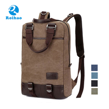 Roihao china new product citi trends custom canvas backpack wholesale