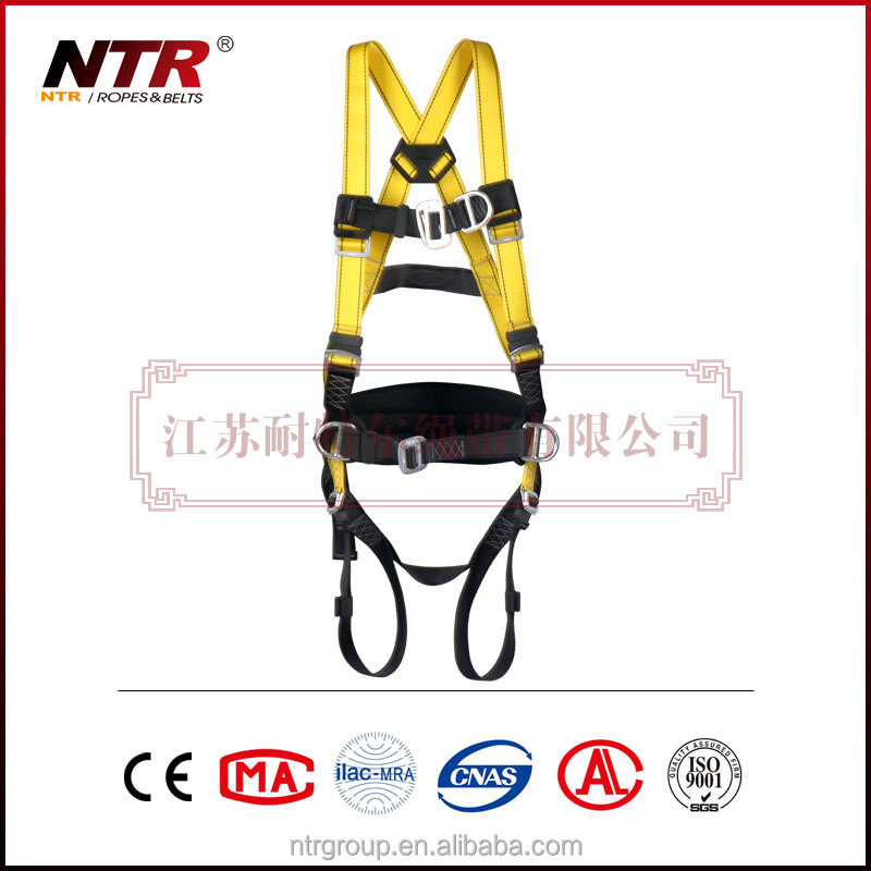 NTR safety belt for fall protection d ring with cross bar