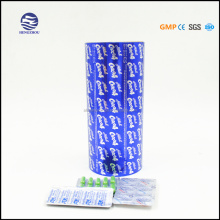 High heat sealing property aluminium foil tablets packing