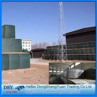 China Anping professional supply High Quality Military Sand Wall Hesco Barrier/High Quality Hot Sale Hesco Barrier Blast Wall