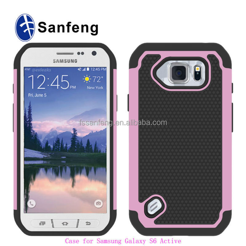 Fashion Effect Football Pattern Hard Back Cover Skin Case For Samsung Galaxy S6 Active