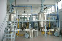 peanut/soybean/palm/coconut/olive Oil refine machinery