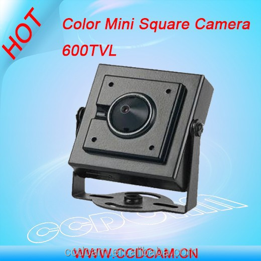 New ccd 600tvl color hidden mini square camera in toilet video