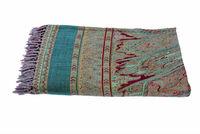 Best Deal Today !! Latest collection of gorgeous JAMAWAR throws Indian Home Decorative Woolen Throws Woolen Jamavar Bedspreads