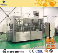 Automatic machine for making juice and filling line