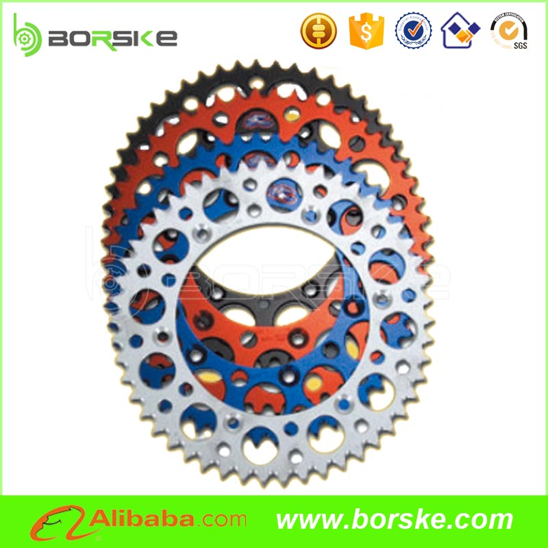 Good motorcycle chain sprocket price for motorcycle sprocket Dirt bike Chain sprocket wheels from China