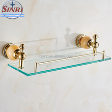 Copper plated Jade Bathroom Hardware Sets Bathroom Accessories