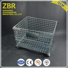 Gs Collapsible Metal Japanese Wholesale Warehouse Wire Mesh Container