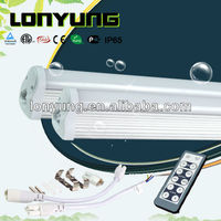 AC100-240V high lumen energy saving T8 led remote & dimmer integration tube light