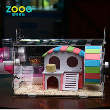 Perfect clear acrylic hamster activity cage for small animals wholesale