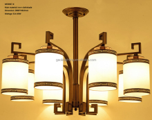 vintage ceiling lamp for sample chinese tybe #WD9907-8