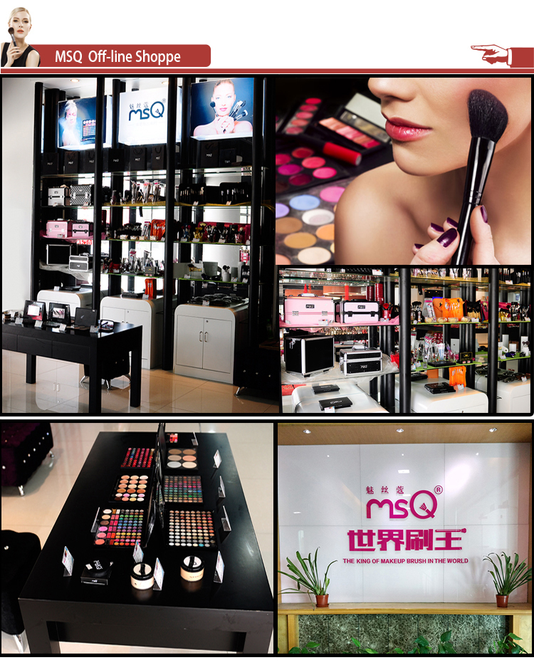 MSQ Private Label Cosmetic Makeup Wholesale Makeup Brushes