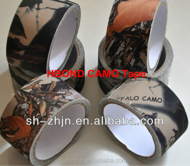 Classical hot branded packing camo CP athletic camo tape