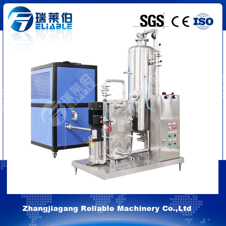 Liquid beverage mixing machinery carbonated soft drinks mixing machine