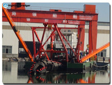 18inch Hydraulic cutter suction sand dredging ship for sale