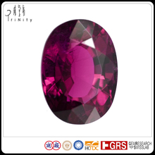 Top Quality Gems 12.09 Carat Oval Unheated Red Rubellite Gemstone