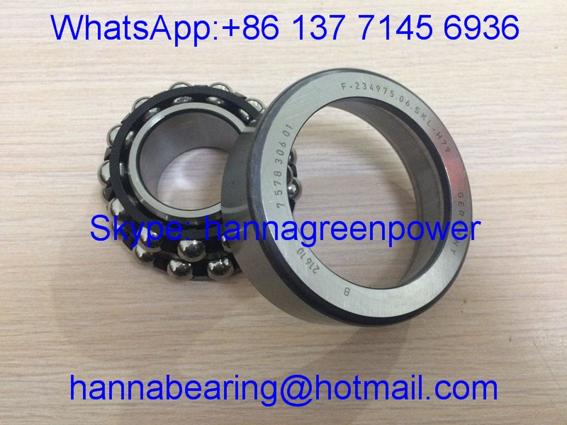 F-234975.06 7578306 01 Differential Bearing / F234975 Angular Contact Bearing 31.75*73.025*29.37mm