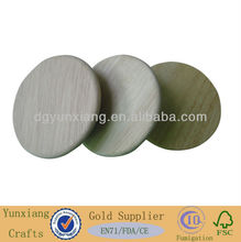 Nature rubber wood jar lids without any chemical composition