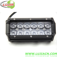 7 inch 36w waterproof off road LED light bar cover, yellow, blue, red, led light bar 4x4 LJL-C2036