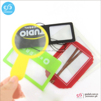 2016 guangzhou plastic magnifying sheets reading pvc flat magnifying glass for wholesale