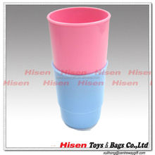 Mini plastic kids bathroom cups