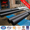 Octagonal Steel Galvanized hot 11 meters steel pole with 10KN load