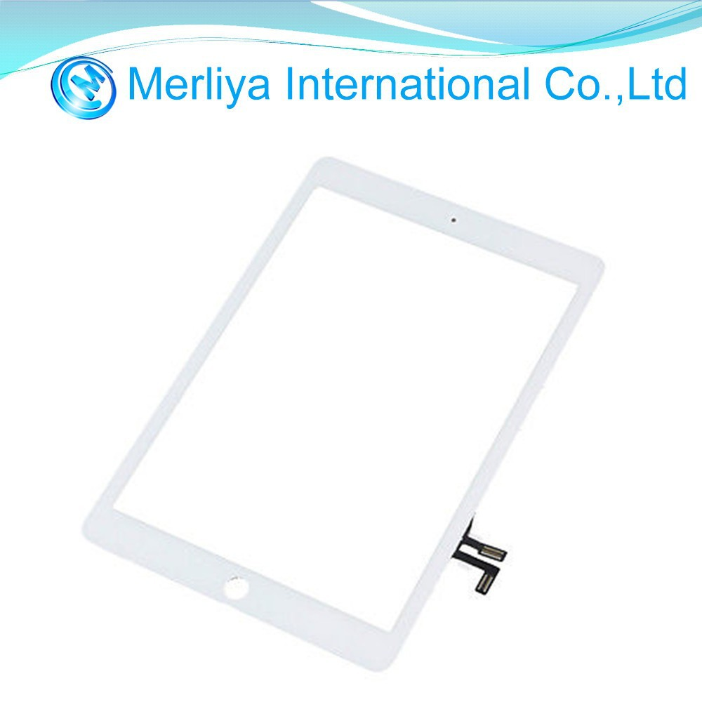 White Touch Screen Digitizer Glass LCD for Apple iPad Air models A1475 A1474