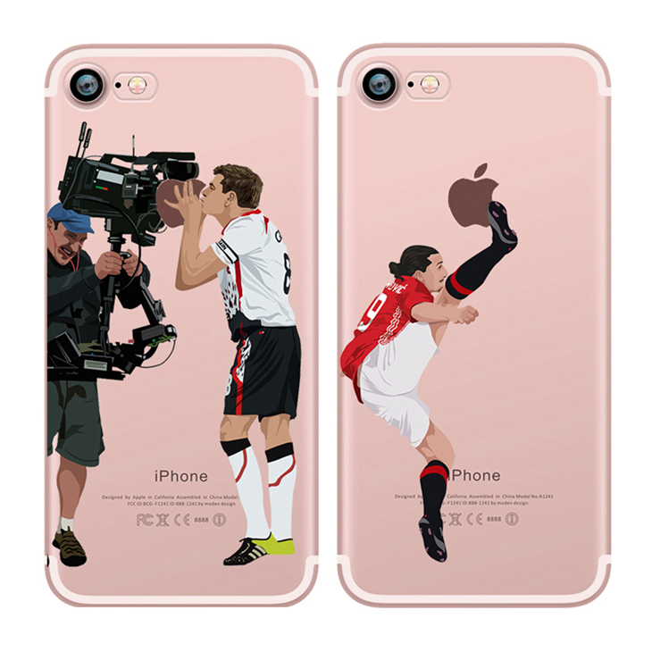 Alibaba online wholesale soccer player custom printed phone case