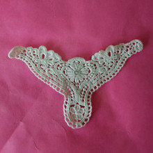 cotton crochet embroidery water soluble lace applique