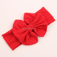 Factory Wholesale plain top baby headbands for baby girls