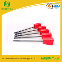 China High Quality!!HRC55 Carbide Milling Cutter,Dovetail end mill cutter,Square milling cutter