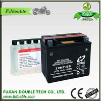 12v high quality rechargrable battery with best prices,12v 7ah motorcycle battery,Green lead acid battery