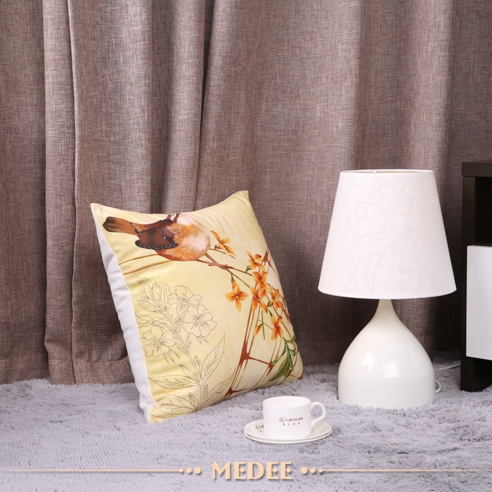 High quality decorative print pillow case cover,hotel custom pillow case
