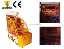 Luxury basketball arcade game machine,indoor arcade hoops cabinet basketball game