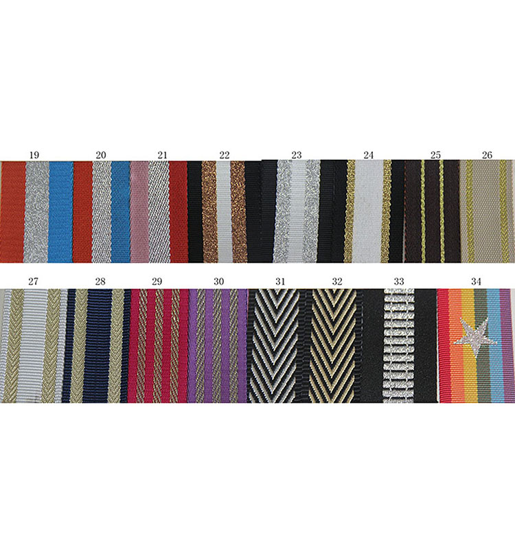 high quality twill cotton webbing with sliver line 5cm