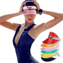 Fashion Pvc UV Hat Sun Visor Cap