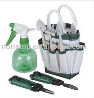 Garden Tote With Tools, Garden Tough New Ultimate GARDEN TOOL SET & TOTE