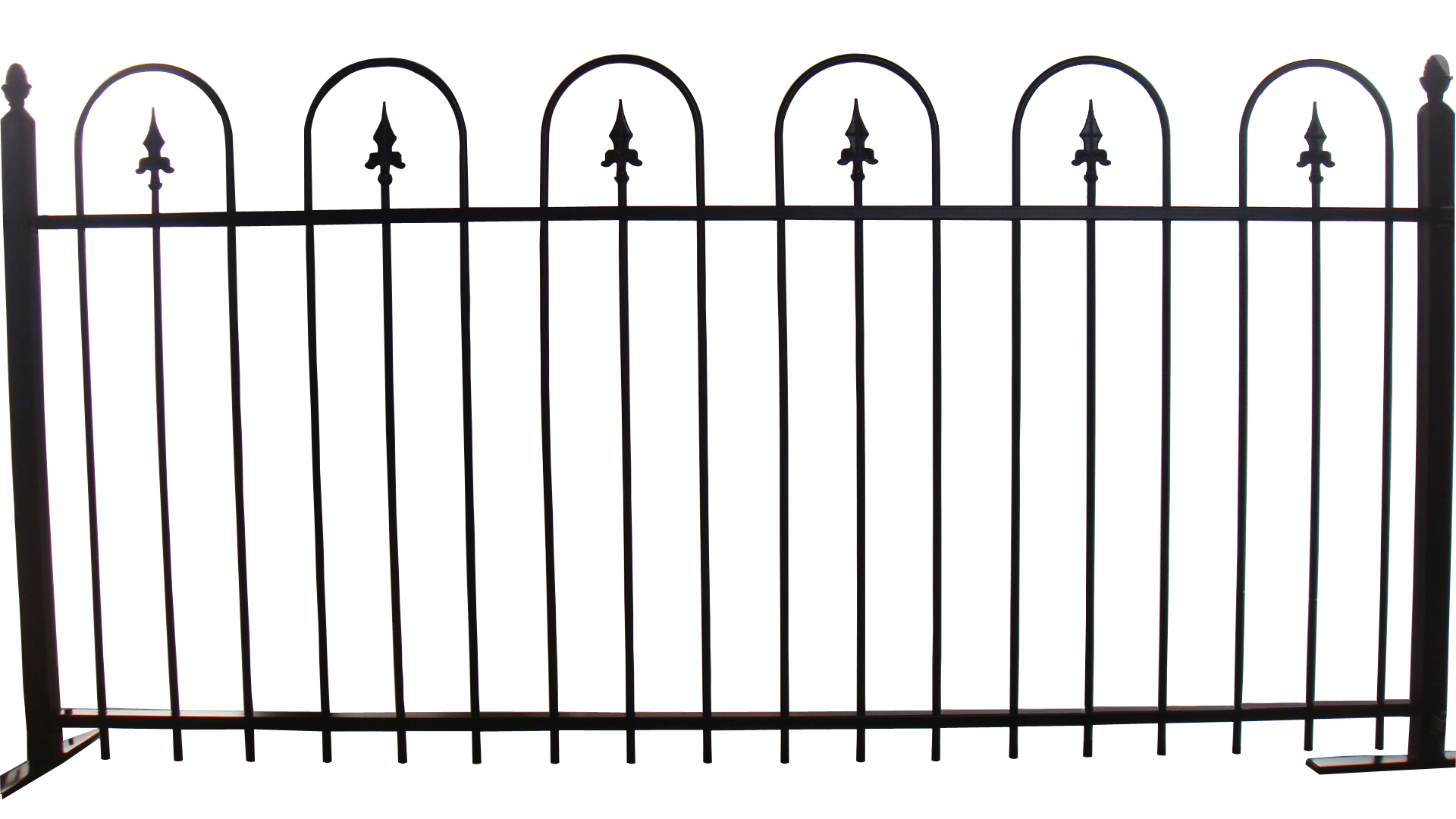 Have a number of patents design door iron garden main gate