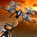5.8G FPV 2.4GHz 4CH RC 4-Axis 30W HD Camera RTF Quadcopter Aircraft Drone UAV
