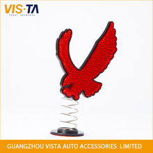Fashional reflective spring decoration ,red car eagle furnishing articles,multifunctional car interior car decoration