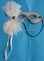White feather masks - China supplier M-508-2