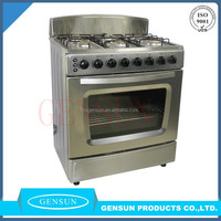 30 inch gas range with oven white/ black/ stainless steel in CKD/ SKD