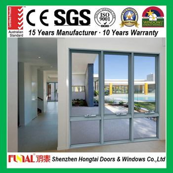 Commercial standard aluminium chain winder awning window