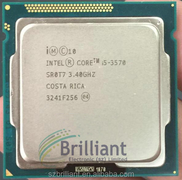 for lntel I5 3570 CPU Processor Quad-Core 3.4Ghz /L3=6M/77W Socket LGA 1155 Desktop CPU